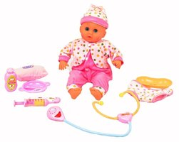 Baby pop dokter set