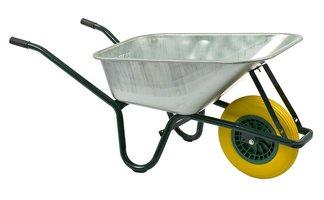 Kruiwagen met antilek band
