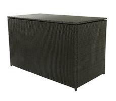 Kussenbox zwart